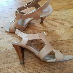 Adrienne Vittadini Tan Sandal Heels